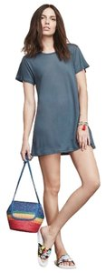 Reformation short dress Slate Jetty Blue Small on Tradesy