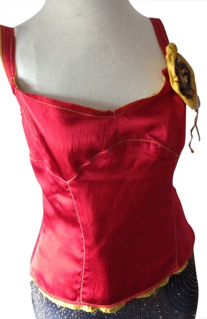 Preload https://item4.tradesy.com/images/burnt-orange-and-gold-australian-designer-silk-tank-topcami-size-8-m-1009488-0-0.jpg?width=400&height=650