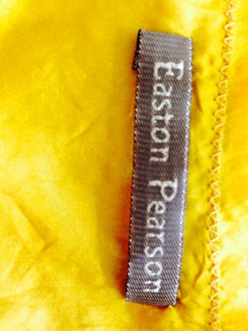 Easton Pearson Top Burnt Orange And Gold