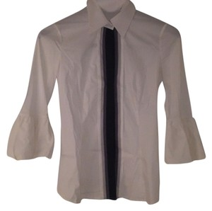 BCBGMAXAZRIA Button Down Shirt White