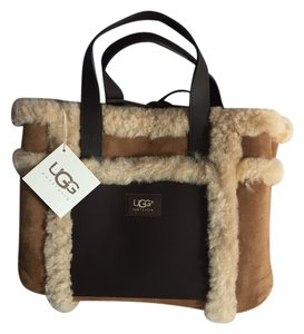 UGG Australia Satchel in brown and tan
