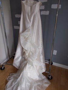 Strapless Silk Mikado Gown Wedding Dress
