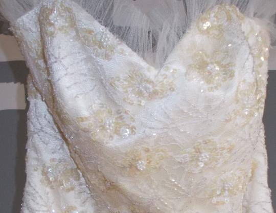 Silk Vintage Inspired Gown Wedding Dress