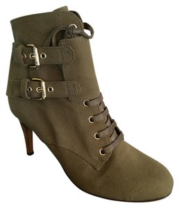 Moschino Army Green Boots