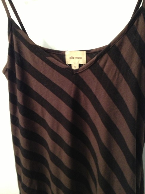 Brown/Black Striped Maxi Dress by Ella Moss Sex And The City Carrie Bradshaw Drawstring