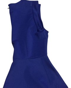 Forever 21 Top Royal blue/ blackb