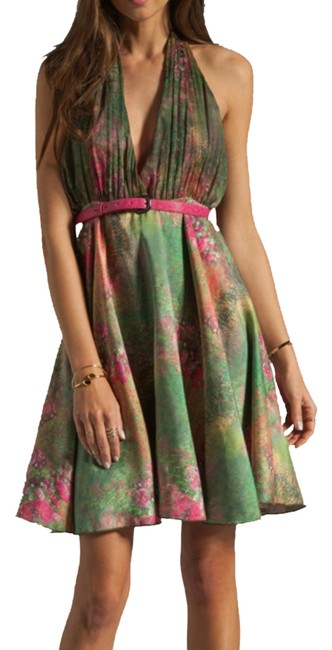 Preload https://item4.tradesy.com/images/alice-olivia-pink-green-yellow-gold-orange-brown-halter-above-knee-cocktail-dress-size-6-s-1009883-0-0.jpg?width=400&height=650