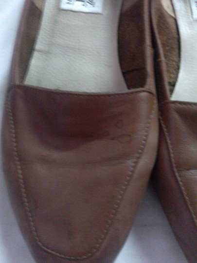 washington soft collection Leather brown Flats