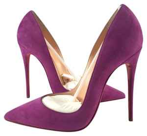 Christian Louboutin So Kate So Kate Impera purple Pumps