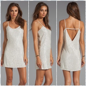 Parker Beaded Leather Beads Dress