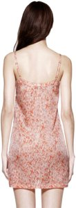 Tory Burch short dress Pink White Nightgown Slip Sexy Silk New on Tradesy