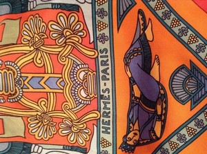 Hermes Authentic Hermes Silk Scarf