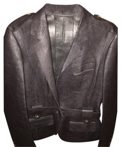 Burberry Leather Leather Leather Jacket