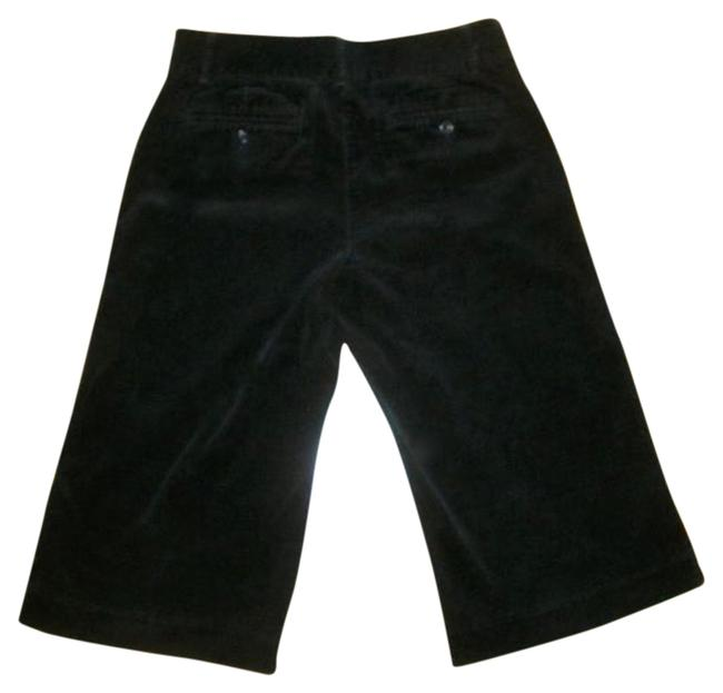 Express P637 Size 4 Pants Cropped Bermuda Shorts BLACK