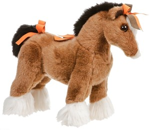 Hermes Hermes Brown Hermy the Horse Plush Toy