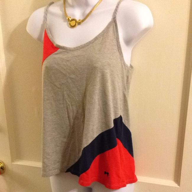 Tommy Hilfiger Top Gray, Red, Blue