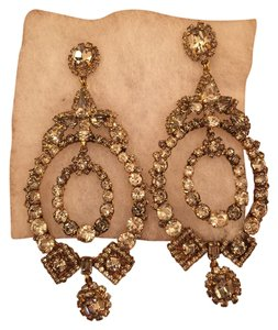 Erickson Beamon Swarovski Crystal Earrings