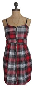 Forever 21 short dress Red Plaid on Tradesy
