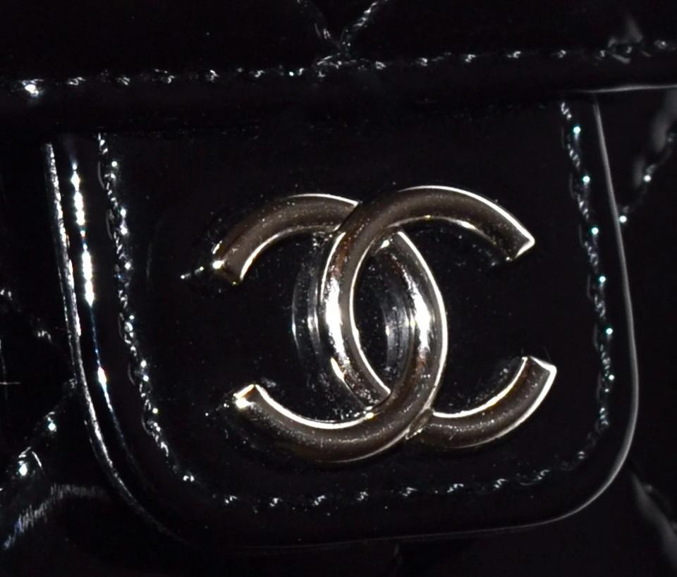 792ad5287009af Chanel Camera Case Paris Quilted Patent Mobile Phone / Single Flap ...