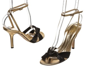 Kate Spade Black/Gold Sandals