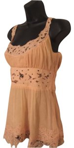 Catherine Malandrino Top Orange