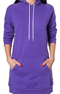 American Apparel Fleece Long Sweatshirt