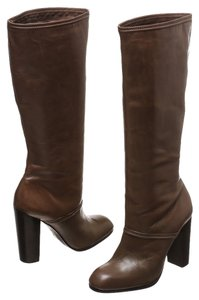 Elizabeth and James Taupe Boots