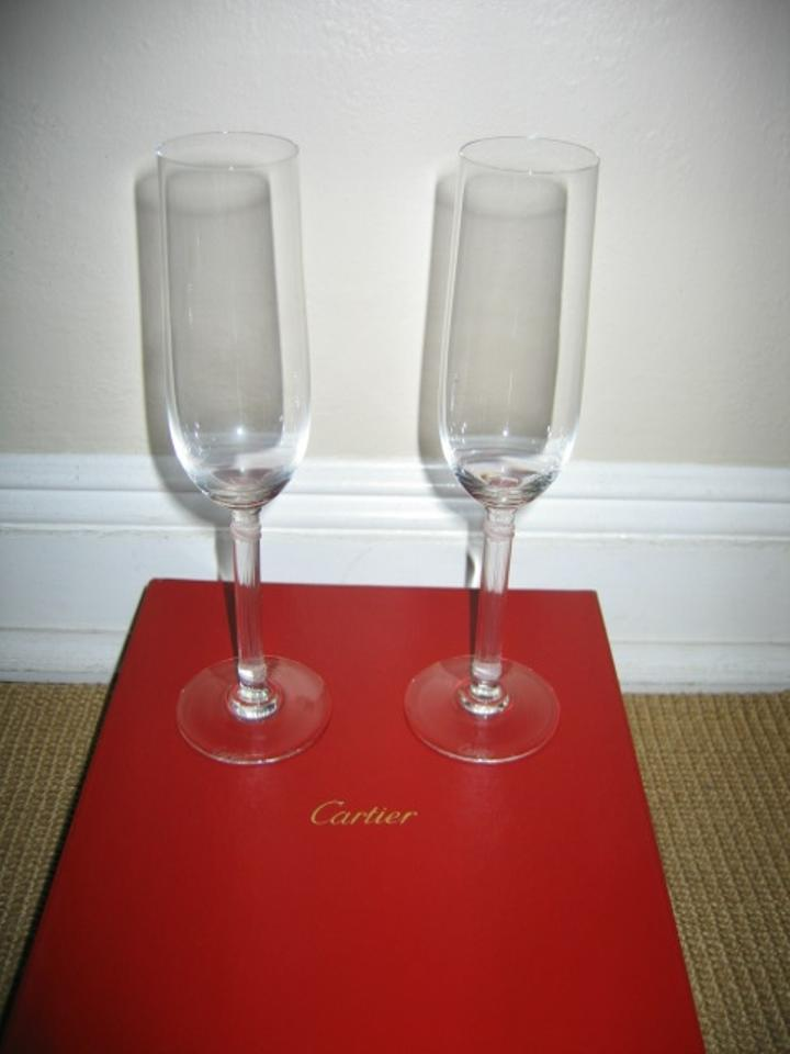 Cartier Champagne Toasting Flutes Tradesy Weddings