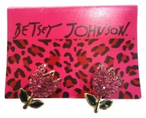 Betsey Johnson Betsey Johnson Rose Tulip Earrings