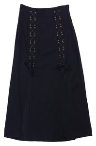 Moschino Black Maxi Maxi Skirt