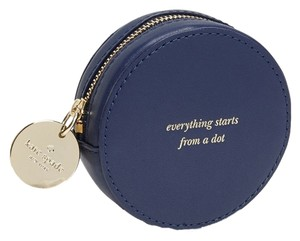 Kate Spade Price reduced until 8/10..with $28.00 OF BONUSES-Dust Cover & jewelry Pouch..LAST ONE...Dot Coin Purse