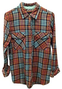Hurley Button Down Shirt Plaid