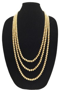 3 - Genuine Brass Bead Necklaces [ Roxanne Anjou Closet ]