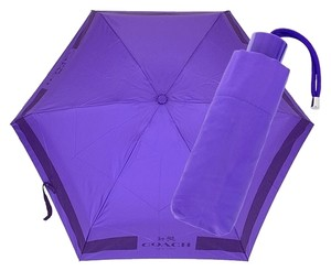 Coach NWT Coach Horse & Carriage Lock-Up Mini Umbrella!