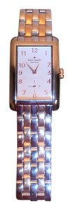 Kate Spade Kate Spade 2 tone silver and rose gold wrist watch