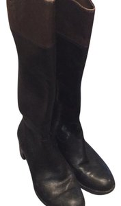 Vince Camuto Black with brown top Boots