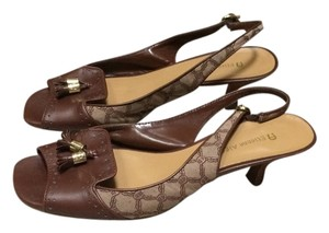 Etienne Aigner Brown Sandals