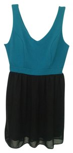 BeBop short dress Teal Semi Formal Chiffon on Tradesy