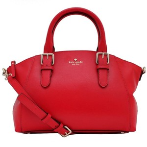 Kate Spade Satchel in Chili Red