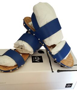 Dolce Vita Sandal Leather Air Force Blue Sandals