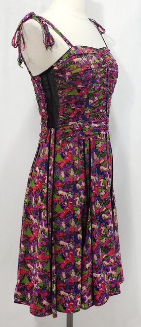 Marc Jacobs short dress Multi Silk Print Ruched Structured Summer on Tradesy