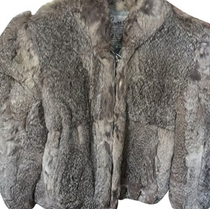 Caravelle Rabbit Fur Coat Fur Coat