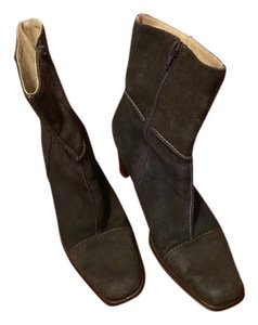 Worthington Faux Suede Brown Boots