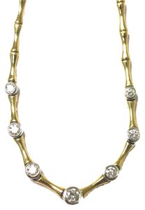 Bambu Diamond Bamoo Necklace