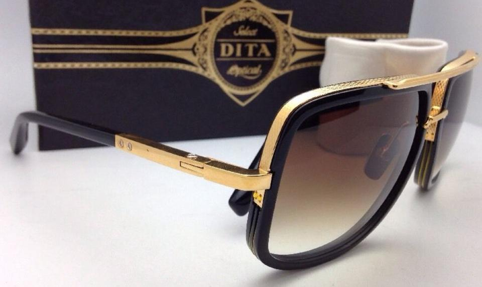 d770b037f215 Dita New DITA Sunglasses MACH ONE DRX-2030B-59-17 Black   18K.  123456789101112