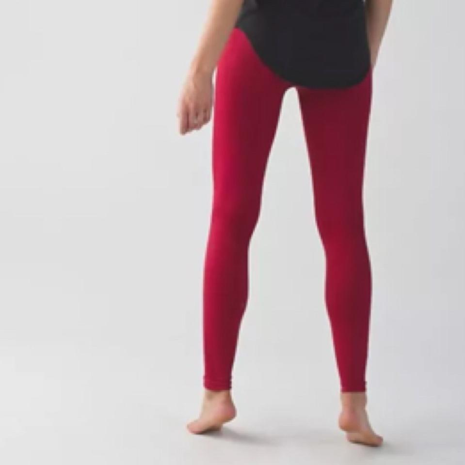b8ca9cd722cca0 Lululemon Cranberry New with Tags Zone In Tights Activewear Bottoms ...