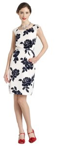 Kate Spade Floral Sheath Taffeta Pockets Dress