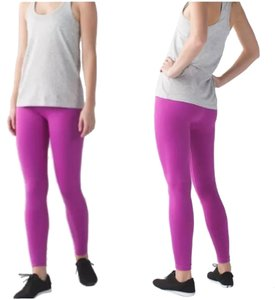 Lululemon New With Tags Lululemon Zone In Tight Leggings Ultra Violet Size 4