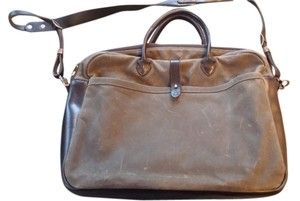 Artifact Bag Co. Briefcase Waxed American Made Laptop Bag