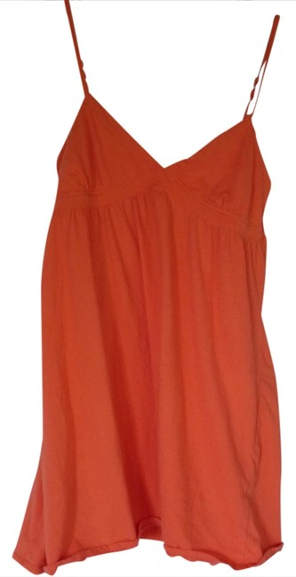 Aéropostale short dress Orange Summer Spaghetti Strap on Tradesy